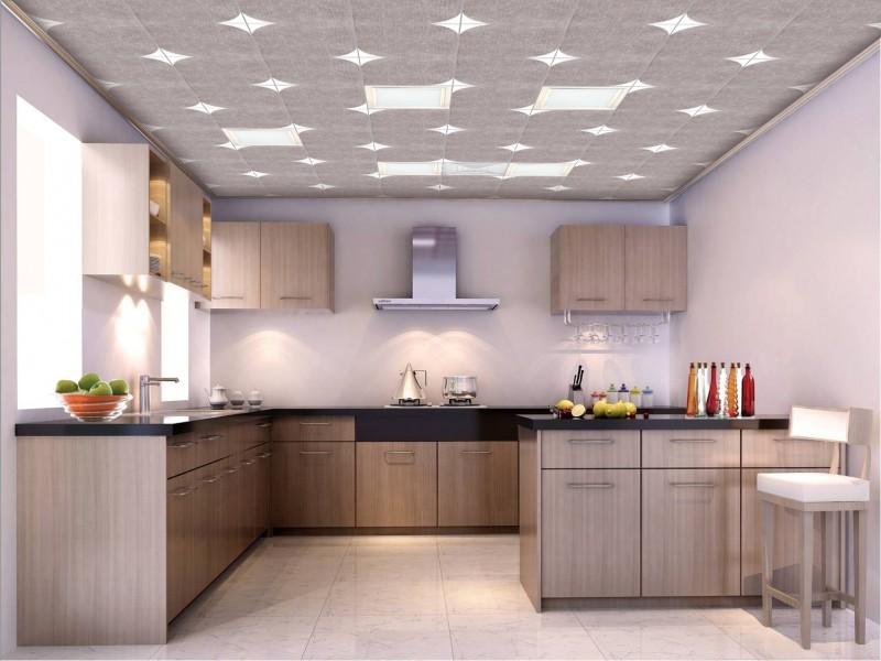 铝扣天花吊顶,装修厨房卫生间的不二选择