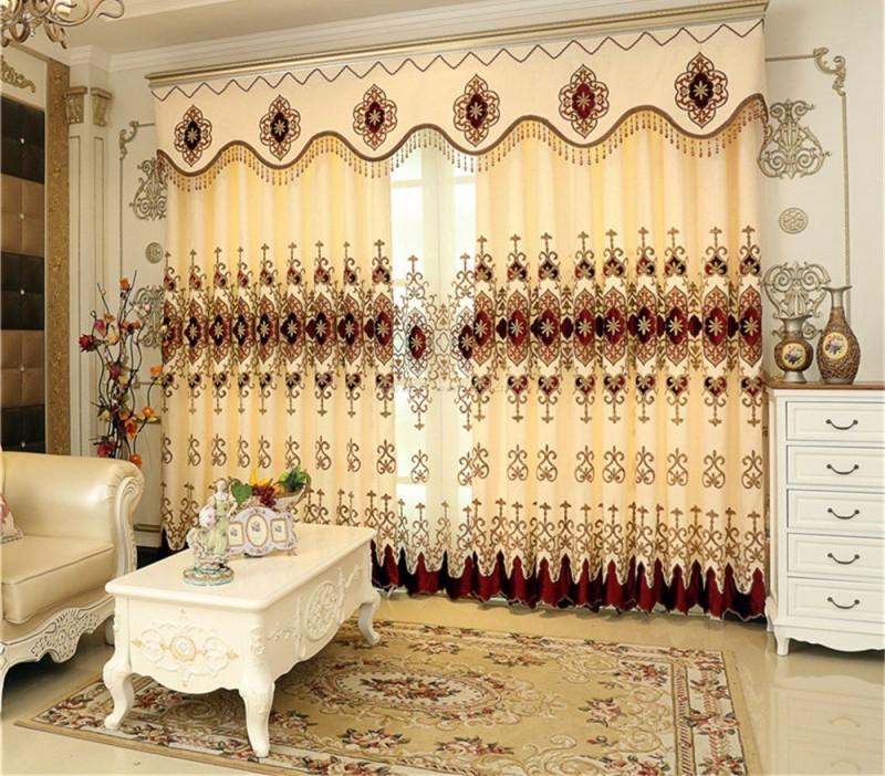 窗帘布料大对比