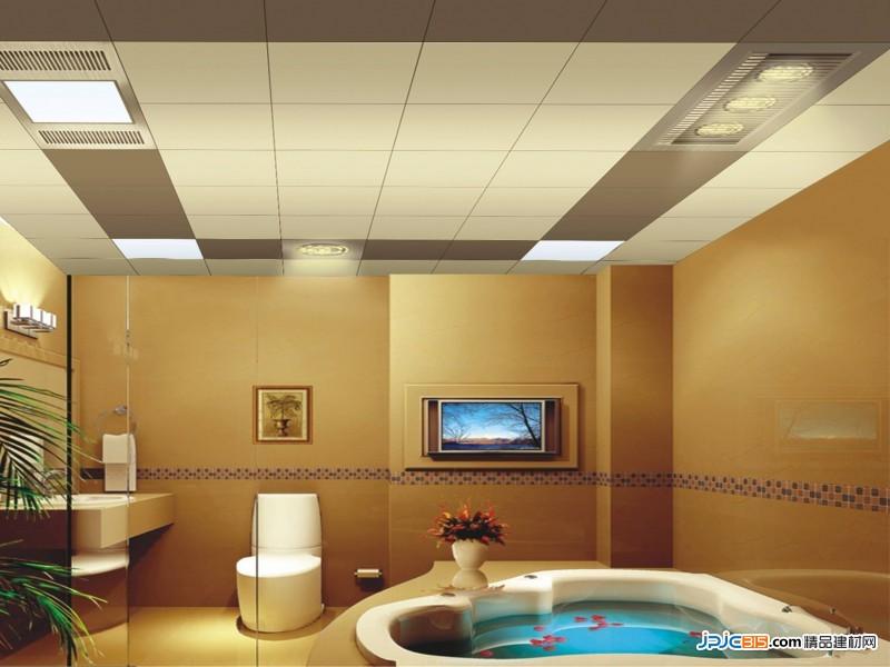 卫生间集成吊顶的高度跟哪些方面有关系?多少合适?