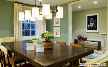 家居餐厅灯饰的选择