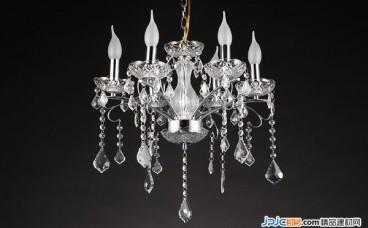 水晶吊灯的选购方法及保养清洁