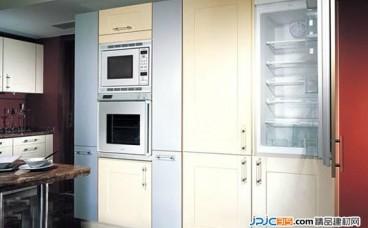 厨房家电合理布局,嵌入式厨电成趋势