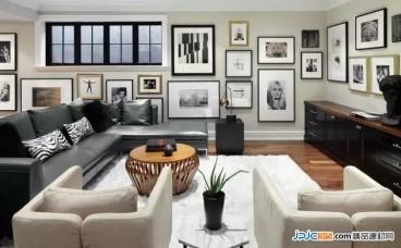 4种不同装修风格的照片墙设计案例分享