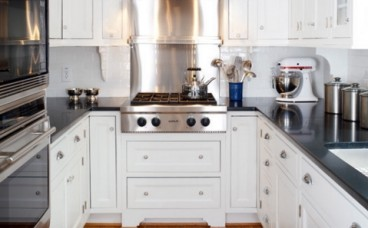 橱柜效果图 小厨房独特的橱柜设计