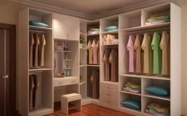 定制衣柜六大功能分区 你家是这样吗