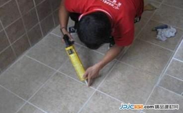 瓷砖填缝剂用法