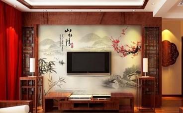电视墙是贴瓷砖好还是贴壁纸好呢?