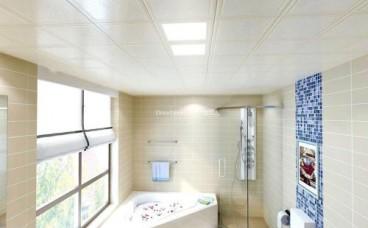 卫生间安装集成吊顶,高度是多少才最合适?