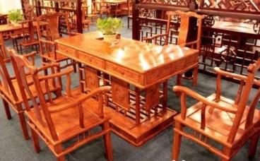 红木家具雕花清洁方法