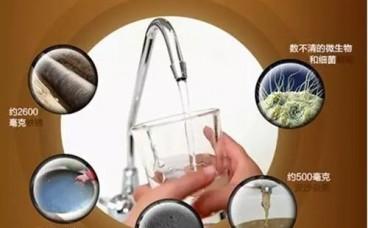 一年净水器能拦截不少有害物质?
