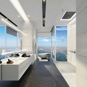 伊盾门窗银弧平系列开门产品介绍